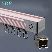 Guangzhou Foshan 3 Sided Bay Window Curtain Track For Hotel