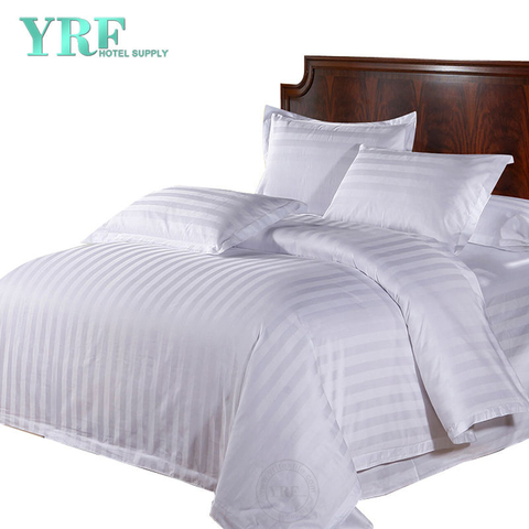 High Quality 600 Thread Count Striped White Twin Xl