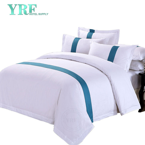 Double White Soft Polycotton Hotel Collection Bedding Sets Sale Four Seasons