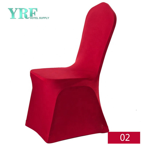 YRF Factory Wholesale Cheap Universal Spandex Red Chair Covers