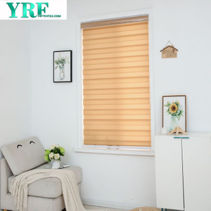 Zebra Roller Blinds With Valance Double Layer Zebra Fabric Curtains