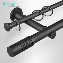 Guangzhou Foshan Factory Supply Bendable Double Curtain Track For YRF