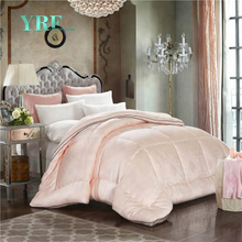 China Wholesale Luxury Microfiber Filling Bed Summer Quilt Super King Size Duvet Cover Set