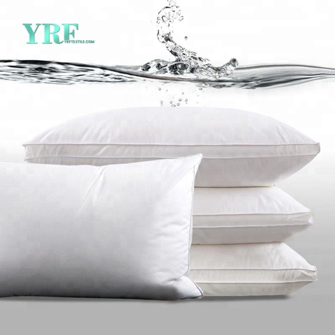 Hotel Home Wholesale White 100% Cotton Filling Super Soft 5 Star Hotel Quality Pillow