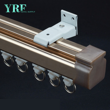 Guangzhou Foshan Bay Window Curtain Track Or Pole For Hotel