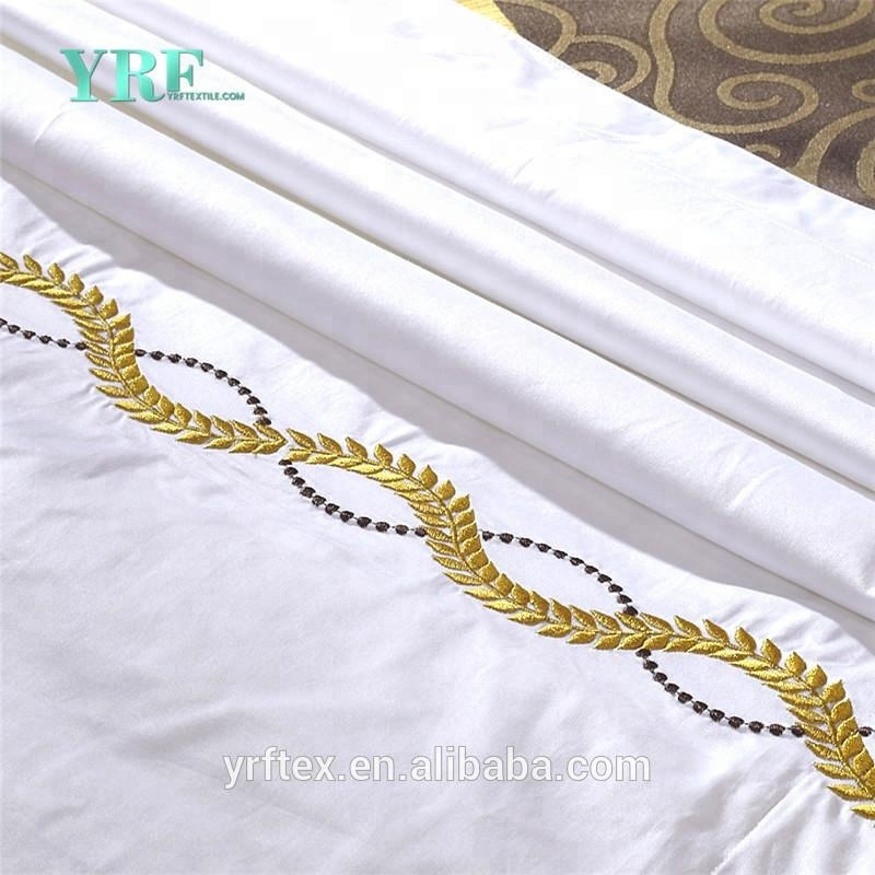 Luxury 5 Star Hotel Bedsheet Jacquard Cotton Double Bed 4 Pcs