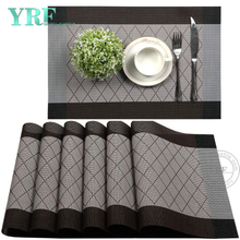 Rectangular Dining PVC Non-stain Resistant Anti-Skid Coffee Table Mats