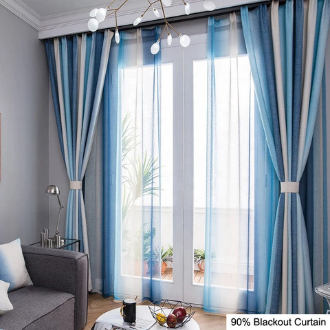 Hotel Style Drapes Luxury Modern Design Thermal Insulated For Made In China