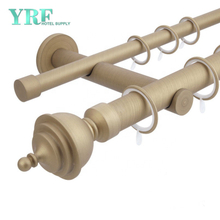 Guangzhou Foshan Wholesale Customized Bendable Corded Curtain Track For YRF