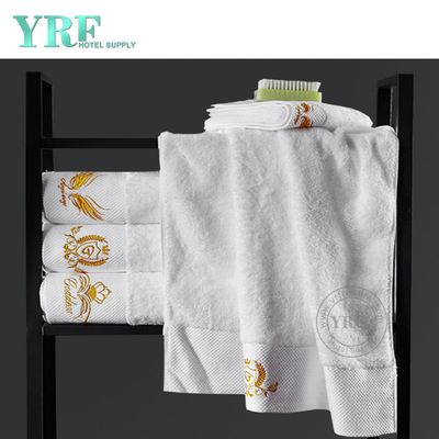 White Hotel 100% Egyptian Cotton Bath Towel Soft Jacquard Towels Bath With Logo