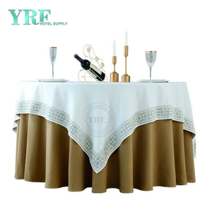 YRF Table Cover Hotel Wedding 4ft linen Polyester Round