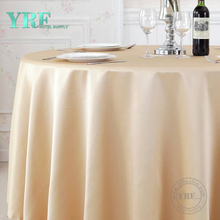 "YRF Table Cover Hotel Party 72"" plain 100% Polyester Round"