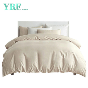 Wholesale Five Star 100 Cotton Twin XL Cream Coloured Hotel Bedding