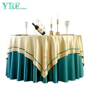 "YRF Tablecloth Hotel Party 72"" Deep Green 100% Polyester Round"