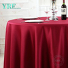 "YRF Table Cover 5 Star Hotel Wedding 84"" plain Polyester Round"