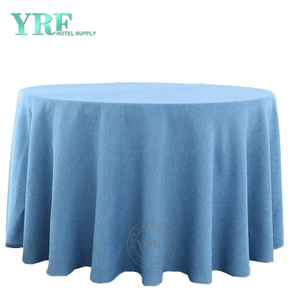 YRF Table Cover Hotel Banquet 6ft linen 100% Polyester Round