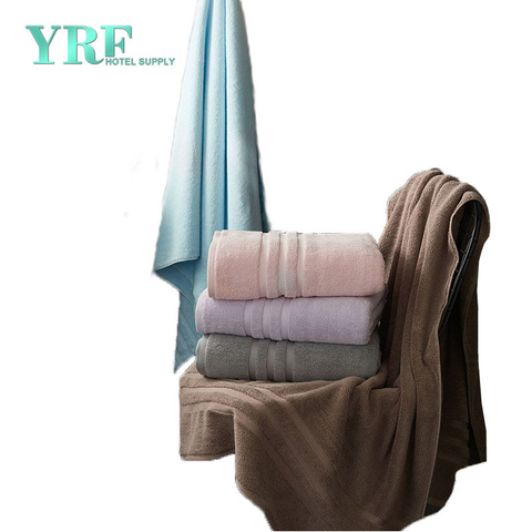 Customized Thickness Soft Water-Absorbing And Skin-Friendly Striped Hotel Towel XXL