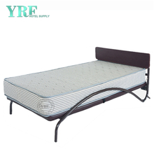 Hospital Folding Bed Extra on Wheels Foam Mattress Sturdy Metal Frame Single Size
