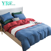Bedding Wholesale King Bed Polyester fabric Multi Color For Home stay