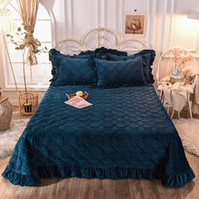 3 Piece New Product Bedspread Cover Over Size 75X99 Inch Polyester Bed Cover Blanket