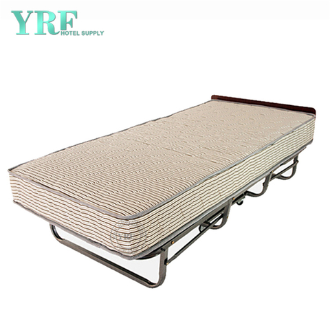 Home Folding Bed Extra on Wheels Portable Super Sturdy Frame Twin Size Beds