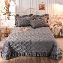 New Product Bedspread Cover Lightweight Twin XL Cover Set Dark Gray for Winter