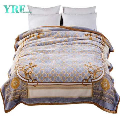 Luxury Fleece Modern Design No Pilling Printing Pattern Bedding Blanket