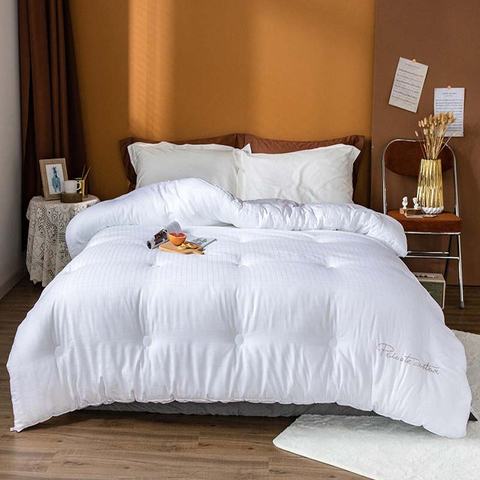 New Product Spa Hotel Comforter Quilt Silk Cozy Feeling For Summer